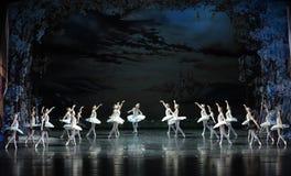 The smoke of incense in Swan Lake-The last scene of Swan Lake-ballet Swan Lake Stock Photos