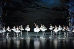 The smoke of incense in Swan Lake-The last scene of Swan Lake-ballet Swan Lake Stock Photography