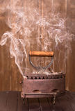 Smoke iron Royalty Free Stock Photo