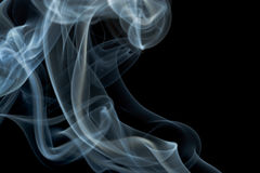 Smoke isolated Stock Photo
