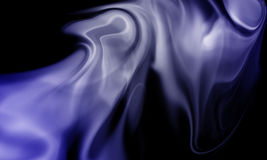 Smoke isolated on black background. Colored smoke isolated on black background Stock Photos