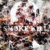 Smoke kill abstract background Royalty Free Stock Images