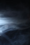 Smoke in the light Royalty Free Stock Photography