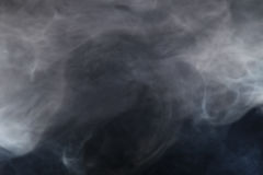 Smoke in the light Royalty Free Stock Photo