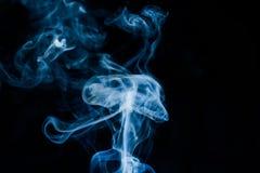 Smoke looks like a jellyfish Stock Photo