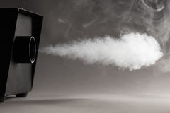Smoke machine in action Royalty Free Stock Image