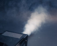 Smoke machine in action Stock Photography