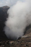 Smoke from Mount Bromo, Indonesia. Smoke from Mount Bromo, the active volcano in Indonesia stock photography