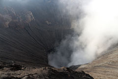 Smoke from Mount Bromo, Indonesia. Smoke from Mount Bromo, the active volcano in Indonesia royalty free stock photos