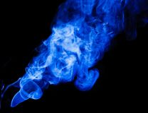 Smoke. Royalty Free Stock Photo