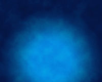 Smoke over blue background Stock Photography
