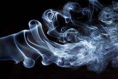 Smoke pattern, texture, background Stock Photo