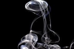 Smoke pattern Stock Image
