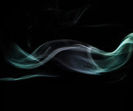 Smoke. Photo of smoke on short exposures with flash to get the effect of mysticism Royalty Free Stock Photos