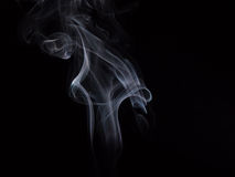 Smoke. Photo of smoke on short exposures with flash to get the effect of mysticism Royalty Free Stock Photo