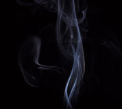 Smoke. Photo of smoke on short exposures with flash to get the effect of mysticism Stock Photo