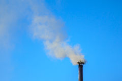 Smoke of pipe Royalty Free Stock Photography