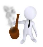 Smoke pipe Royalty Free Stock Images