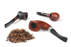 Smoke pipes Stock Photography