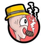 Smoke puppet Royalty Free Stock Photo