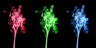 Smoke RGB Stock Photo