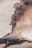 Smoke Rises From Tungurahua Volcano Royalty Free Stock Photography