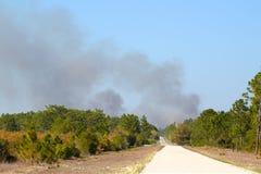 Smoke Rising in Florida Royalty Free Stock Photography