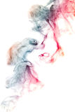 Smoke-shaped Monster,white background Stock Photo