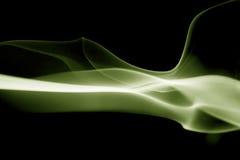 Smoke shapes on black background Royalty Free Stock Image