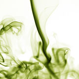 Smoke shapes on white background Stock Photos