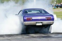 Smoke show Royalty Free Stock Photo