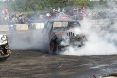 Smoke show stock photos