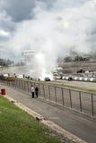 Smoke show Stock Photo