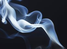Smoke smell smooth stock images