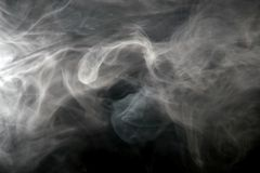 Smoke spreading Royalty Free Stock Photo
