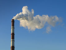 Smoke stack 2 Royalty Free Stock Photo
