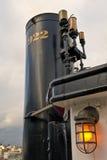 Smoke Stack On Steam Ship Royalty Free Stock Photos