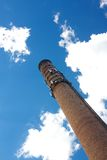 Smoke Stack Rises into Blue Sky Stock Photography