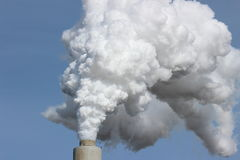 Smoke Stack Stock Photo