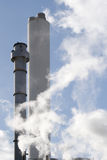 Smoke Stacks Royalty Free Stock Photo