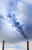 Smoke stacks Stock Photo