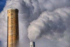 Smoke Stacks Stock Image