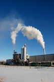 Smoke Stack. S at a sanwill royalty free stock images