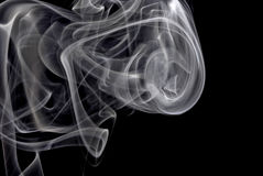 Smoke swirling Royalty Free Stock Photo