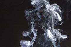Smoke swirls Stock Photos