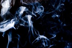 Smoke swirls Royalty Free Stock Photo