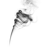 Smoke swirls Royalty Free Stock Photo