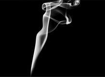 Smoke swirls Stock Photography
