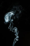 Smoke swirls Royalty Free Stock Photos