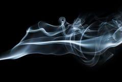 Smoke swirls Stock Image